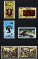 Sellos de Andorra 1976