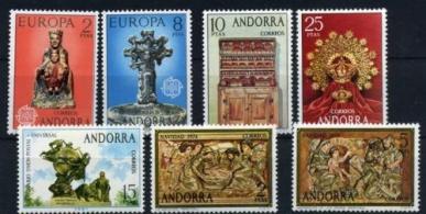 Sellos de Andorra 1974