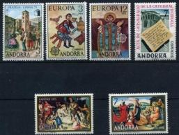 Sellos de Andorra 1973
