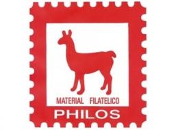 PHILOS Suplementos, Hojas de Sellos Philos.