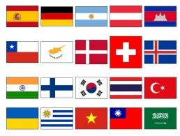 Suplementos. Hojas de sellos de Países Extranjeros...
