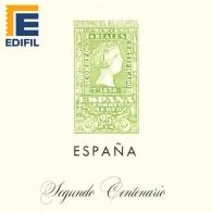 Hojas EDIFIL España Segundo Centenario (1950-1964)
