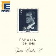 Hojas EDIFIL España Juan Carlos I (1984-1988)