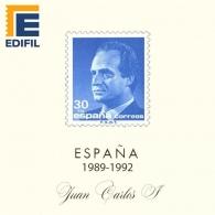 Hojas EDIFIL España Juan Carlos I (1989-1992)