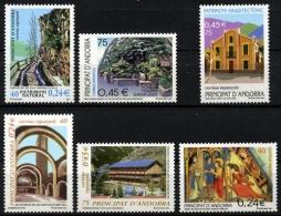 Sellos de Andorra 2001