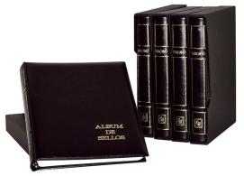 Álbum de sellos Vaticano Standar Negro.