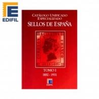 CATÁLOGOS DE SELLOS DE ESPAÑA EDIFIL 2020 VARIOS