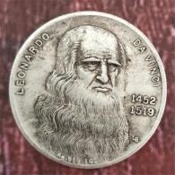 Medalla Leonardo da Vinci y La maja desnuda de...