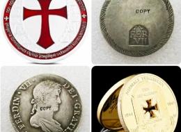 Monedas Réplicas Recuerdo