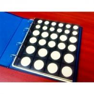 Hoja de monedas mixta 1. 30mm, 25mm y 18mm