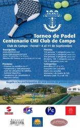 TORNEO CENTENARIO DE PÁDEL