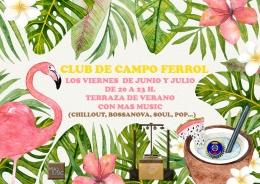 VIERNES MUSICALES EN EL CLUB DE CAMPO