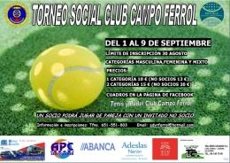 TORNEO SOCIAL CLUB DE CAMPO