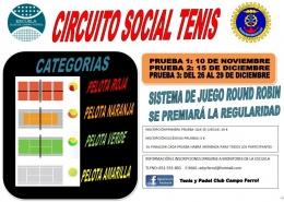 CIRCUITO SOCIAL DE TENIS