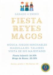BINGO SOCIAL DE REYES