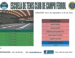 Escuela de Tenis y Pádel