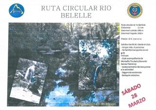 RUTA CIRCULAR RÍO BELELLE