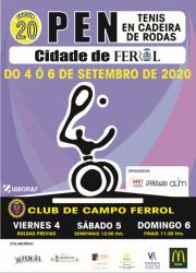 20 OPEN TENIS EN CADEIRA DE RODAS CIDADE DE FERROL
