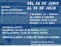 CAMPUS DE FUTBOL CLUB DE CAMPO