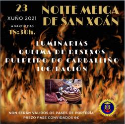 NOITE MEIGA DE SAN XOÁN