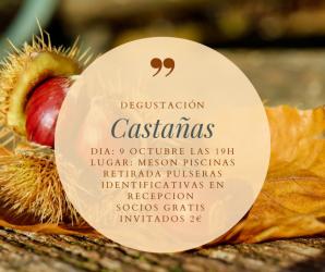 DEGUSTACIÓN DE CASTAÑAS