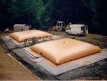 Depósitos flexibles para almacenamiento de líquidos