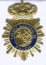 EMBLEM OF NATIONAL POLICE OF SPAIN