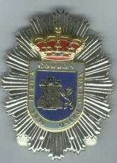 LOCAL POLICE BREAST PLATE