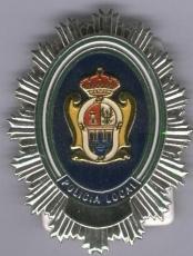 PLACA DE POLICIA LOCAL ANDALUCÍA