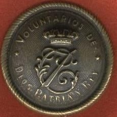 EMBLEM OF CARLOS VII WITH PÁTINA