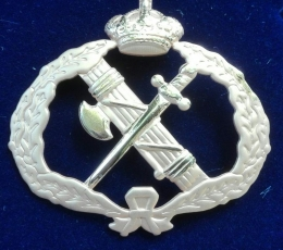 EMBLEM OF CIVIL GUARDS CAP