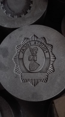 STEEL MOLD FOR LOCAL POLICE