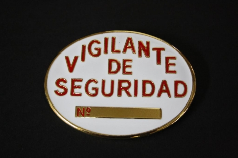 SECURITY PLATE