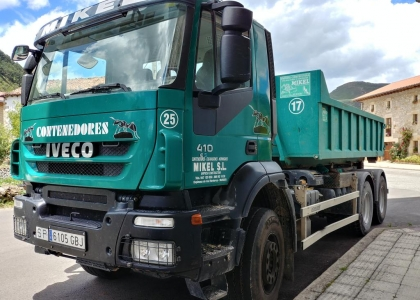 Servicio de Contenedores para residuos.