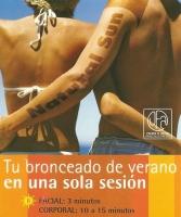 BRONCEADO CON D.H.A.: CAÑA DE AZUCAR facial y escote