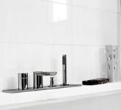 AZULEJO BLANCO BRILLO RECTIFICADO COM 30 x 60 a 12,50 €/m2 + iva