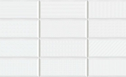 AZULEJO YOSES BLANCO BR COM 20 x 50 a 12,50 €/m2 + iva