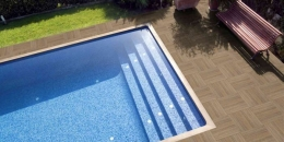PORCELANICO NEW TEK POOL ROBLE COM 45 x 45 a 12,50 €/m2 + iva