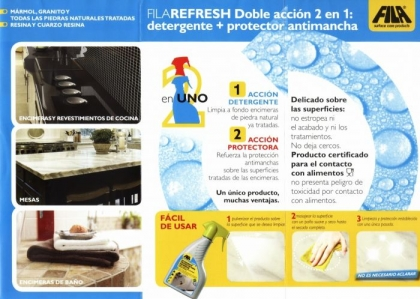 FILAREFRESH LIMPIA ENCIMERAS SPRAY 500 ML