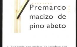 PREMARCOS DE MADERA