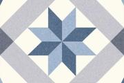 PORCELANICO RIVIERA MENTON BLUE COM 25 x 25 A 12,50 €/m2 + IVA