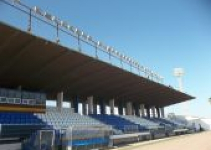 Impermeabilización visera del Estadio Alvarez Claro en Melilla