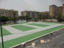 Pistas polideportivas en Centro Deportivo Huelin ( Málaga )