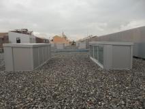 Impermeabilización de cubierta de Centro Médico Albayda en Granada