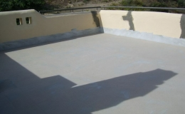 Reparación de cubiertas con resinas de poliuretano