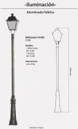 Farola Mod. 10-502