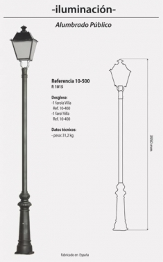 Farola Mod. 10-500