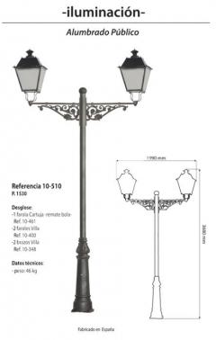 Farola Mod. 10-510