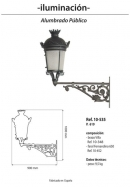 Cabeza Mod. Fernandino 65-Brazo Villa
