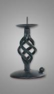 Candelabro de forja Mod. Piña-Espiral